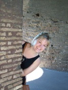 At the Colosseum in Rome, Italy 2011